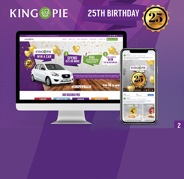 King Pie 25th Birthday